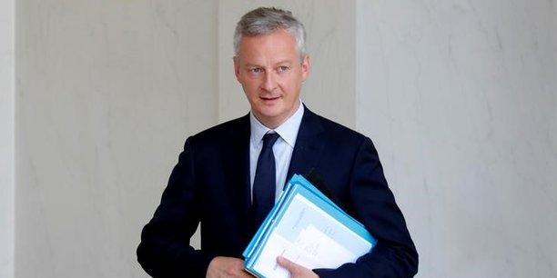 Il faut saisir les révolutions technologiques. C'est pour cela que le projet de loi de finances est favorable à l'innovation, a souligné Bruno Le Maire, ministre de l'Economie et des Finances.