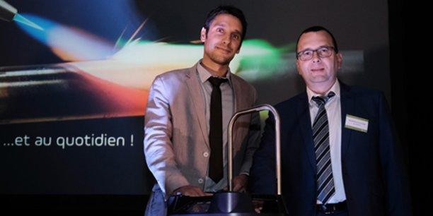 Nicolas Jerez, fondateur et dirigeant de Bulane, et Vincent Martin, P-dg Europe de Castolin.