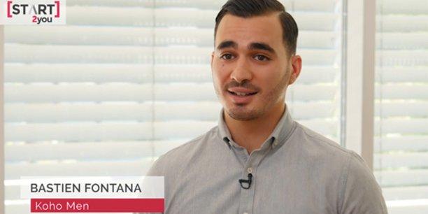 Bastien Fontana, cofondateur de la start-up biterroise