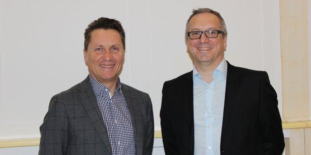Pascal Meynard et Eric Lacombe