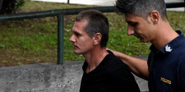 Alexander Vinnik, 37 ans, lors de son arrestation en juillet dernier.