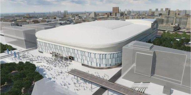 40.000 places, écran géant de 2.400M2, Un toit de 40 mètres de haut... La U Arena, la nouvelle sale polyvalente sport/spectacles du quartier de La Défense, bat tous les records en Europe.