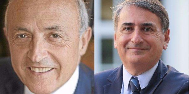 Jean-Hervé Lorenzi et Philippe Robardey.