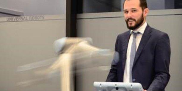 Adrien Poinssot, Sales Manager France chez Universal Robots