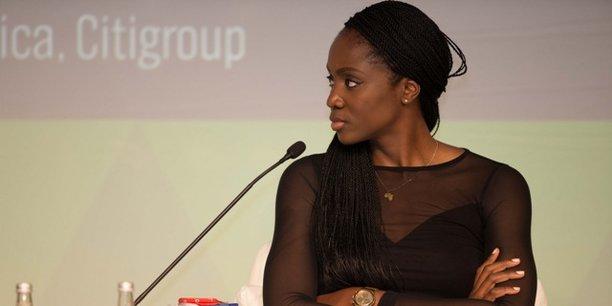 Candace Nkoth Bisseck, cofondatrice de Black Roses Network, lors de la conférence internationale «Africa Convergence», organisée par «La Tribune Afrique», le 29 septembre 2017 à Casablanca.
