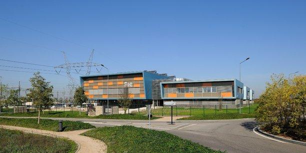 Le centre de formation de RTE à Jonage.