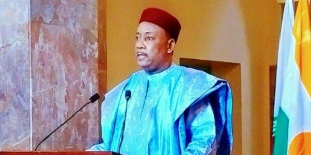 Le président du Niger, Mahamadou Issoufou.