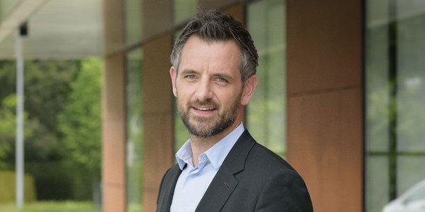 Florian Bachelier, député LREM de l'Ille-et-Vilaine, premier questeur de l'Assemblée nationale.
