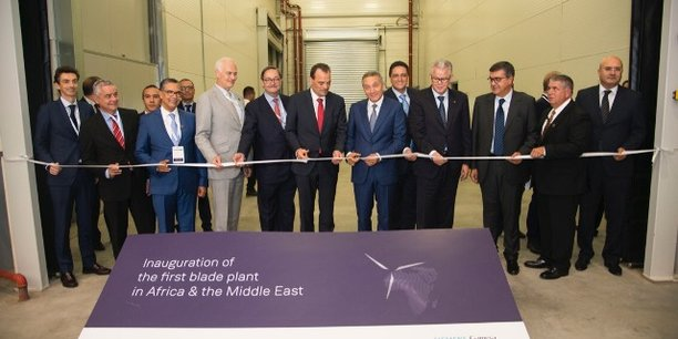 Industrie éolienne : Siemens Gamesa inaugure la première usine de pales en Afrique