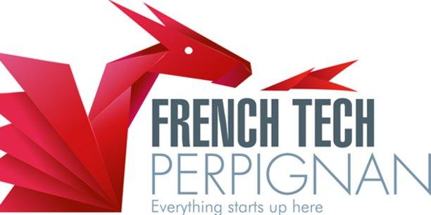 Le logo pour le projet de labellisation French Tech Perpignan