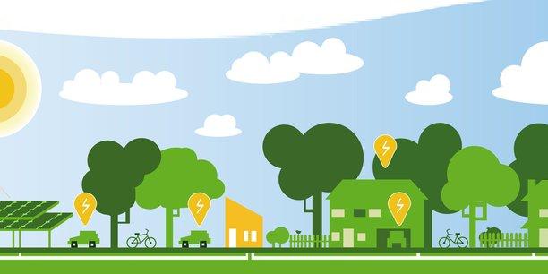La ville éco-intelligente de demain repose sur trois piliers : l'environnement, le numérique et les usages.