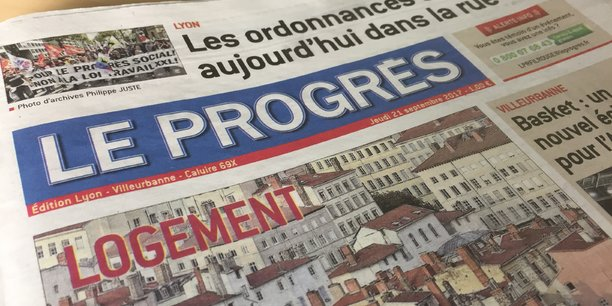Le Progrès enregistre près de 6 millions d'euros de pertes d'exploitation
