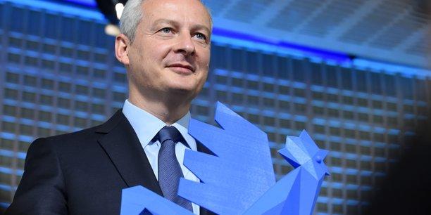 Le ministre de l'Economie et des Finances Bruno Le Maire lors du lancement de la French Fab le 2 octobre dernier.
