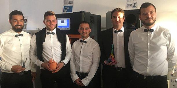 Les entrepreneurs du Pôle 3D Innovation à Bègles