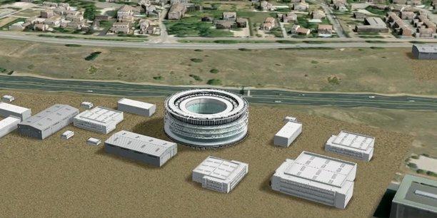 Projet de centre de conférence international sur un futur pôle européen dédié à la sécurité civile, à Nîmes-Garons