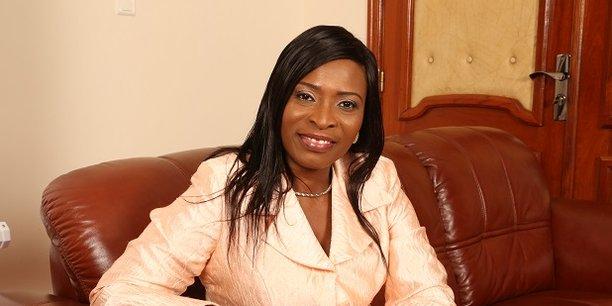 Rafiatou Monrou, ministre de l'Economie numérique et de la Communication.