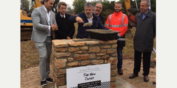 B. Neffati (N2F), C. Laborie (Ville de Cornus), L. Mary (IDEC Invest), F. Rodriguez (Ville de La Cavalerie), S. Picard (Sequabat), J. Trinquier (Ville du Caylar)