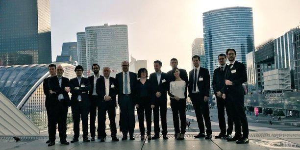 Les partenaires de l'incubateur le Swave de Paris&Co à La Défense.