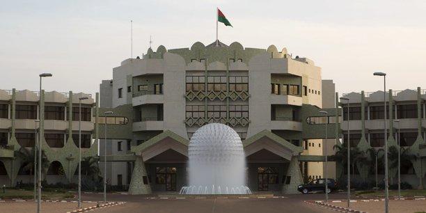 Le palais présidentiel de Kosyam à Ouagadougou, la capitale du Burkina Faso.