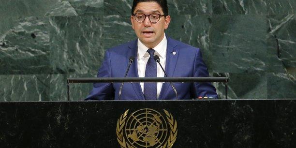 Nasser Bourita, ministre des Affaires étrangères du Maroc.