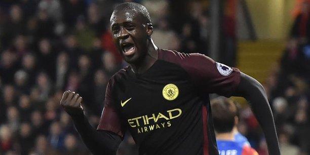 Le joueur de Manchester City Yaya Touré face à Crystal Palace, en novembre 2016.