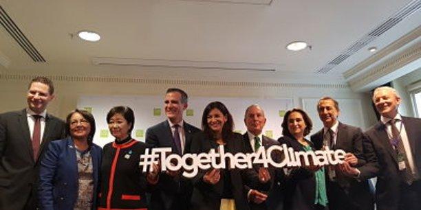 Déclaration du C40 pour des rues sans énergie fossile (à Paris le 23 octobre 2017)