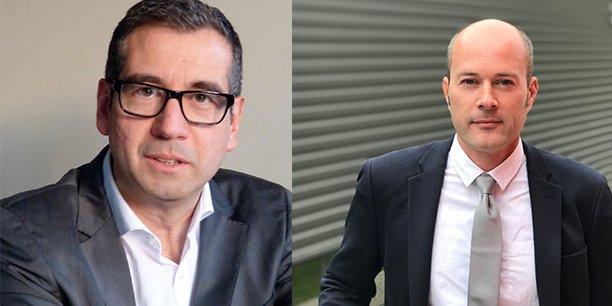 Lionel Fabrizi et Yves Gobert.