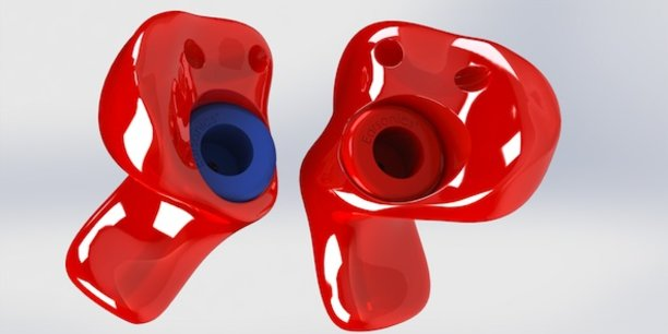 Les protecteurs auditifs fabriqués par EarSonics