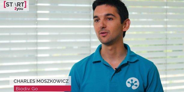 Charles Moszcowicz est un des cofondateurs de la start-up montpelliéraine