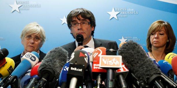 Carles Puigdemont a souligné qu'il ne cherchait pas à se soustraire à la justice et qu'il s'était rendu à Bruxelles pour placer la question catalane au cœur de l'Union européenne.