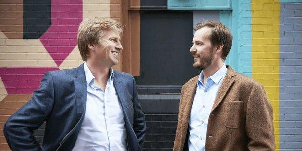 Les cofondateurs de TransferWise, Kristo Käärmann (à gauche) et Taavet Hinrikus (à droite).