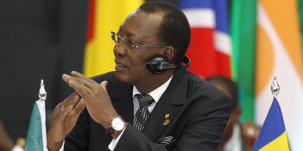 Le président tchadien Idriss Déby Itno.