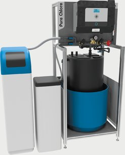 Pure Chlore peut désinfecter une eau saumâtre.