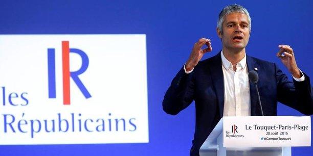 Laurent Wauquiez a déjà été président du parti Les Républicians pendant trois mois, l'année dernière, après la démission de Nicolas Sarkozy.