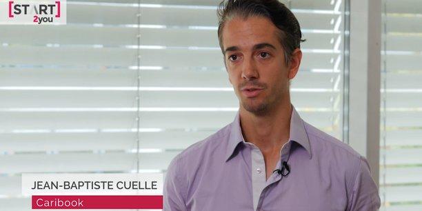 Jean-Baptiste Cuelle, cofondateur de Caribook