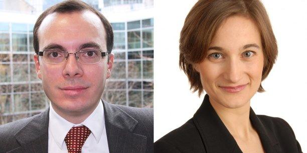 Nicolas Marquès et Cécile Philippe.