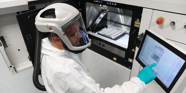 En 2018, Liebherr Aerospace utilisera la fabrication additive pour produire en série.