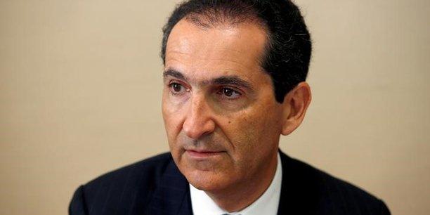 Patrick Drahi, patron du groupe Altice, auditionné par le Sénat en juin 2016.
