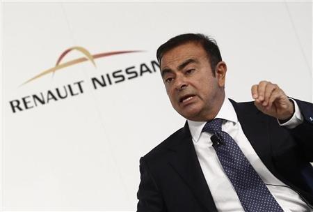 Le PDG de Renault-Nissan Carlos Ghosn. Copyright Reuters