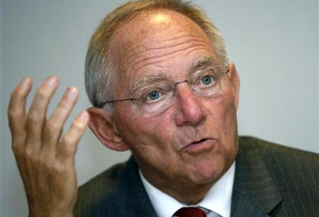 Wolfgang Schäuble, le ministre allemand des Finances -Copyright Reuters