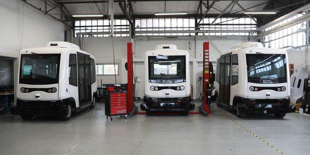 EasyMile a levé 14 millions d'euros auprès d'Alstom.