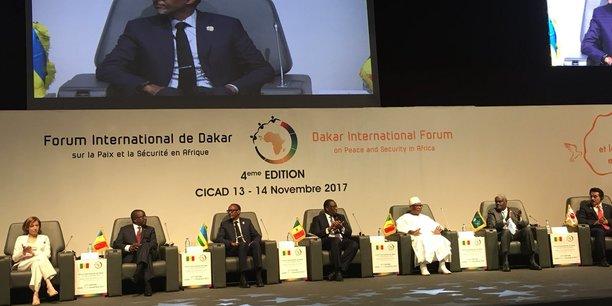 La 4e édition du Forum international sur la paix et la sécurité en Afrique s'est ouverte ce lundi dans la capitale sénégalaise en présence des présidents Macky Sall, IBK et Paul Kagamé