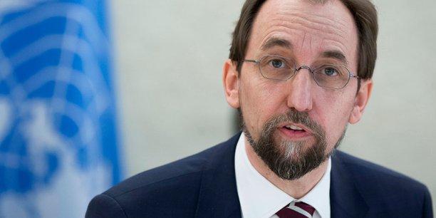 Le Haut commissaire des Nations Unies aux droits de l'homme, Zeid Ra'ad Al Hussein