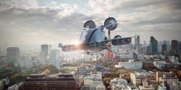 Électrique et à décollage vertical, le véhicule élaboré par la startup Eva, serait capable de transporter des passagers à son bord de façon autonome.
