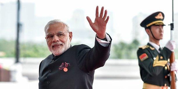 Narendra Modi est arrivé au pouvoir en 2014 avec la promesse de redynamiser la croissance indienne, étape nécessaire pour créer des emplois pour le million de jeunes qui entrent chaque mois sur le marché du travail.