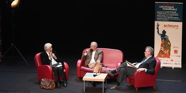 Pascal Perrineau, Bernard Jacquand et Jean-Paul Delevoye
