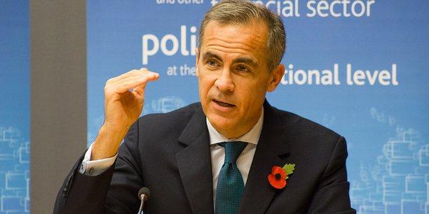 Mark Carney, le gouverneur de la Banque d'Angleterre, est le président du Conseil de stabilité financière, instance internationale qui coordonne les régulateurs financiers au sein du G20.