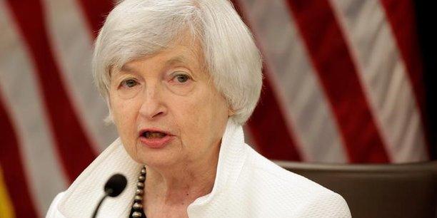 Yellen doute du rebond de l'inflation qu'elle continue de prevoir[reuters.com]