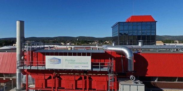 L'usine rouge de Poussan est un leader industriel des isolants.