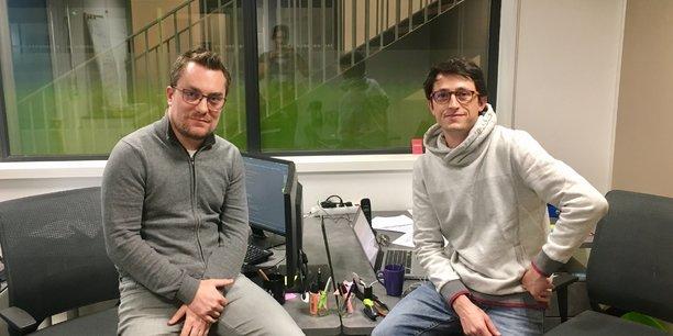 Florent Olivaud et Fabien Desjeux